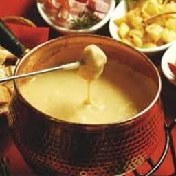 Fondue, cheese