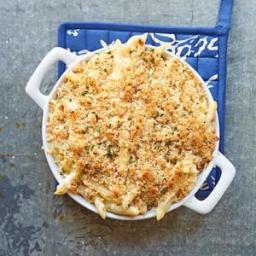 Fontina and Mascarpone Baked Pasta
