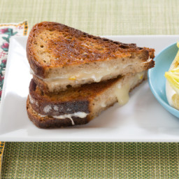 Fontina and Preserved Lemon Grilled Cheese Sandwicheswith Endive, Clementin