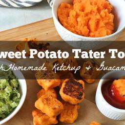 Food Babe's Garlic Herb Sweet Potato Tots