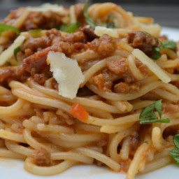 Foodie Friday: Pasta Bolognese {Gluten-Free}