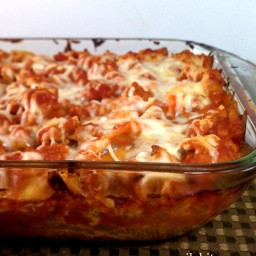 Four Cheese and Sausage Stuffed Shells