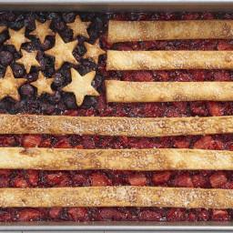 Fourth of July Flag Cobbler