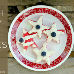 Fourth of July Fruit Cookies