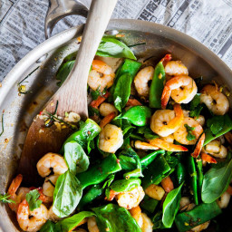 Fragrant South-East Asian Prawns