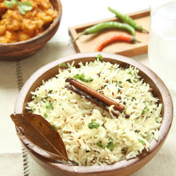 Fragrant Basmati Rice Pullao with Whole Spices