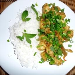 Frango Vietnamita com Lemongrass