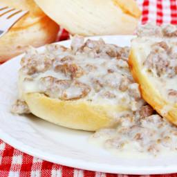 Frank's Famous Sausage Gravy