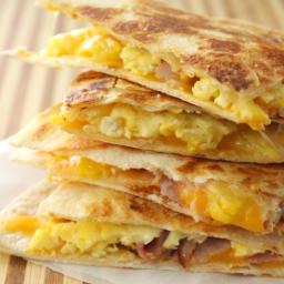 Freezer Breakfast Quesadillas 4 Ways