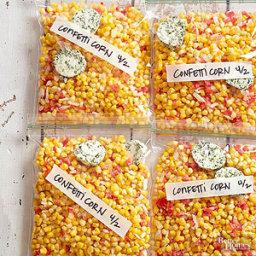 Freezer Confetti Corn
