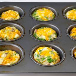 Freezer-Friendly Egg White Muffins