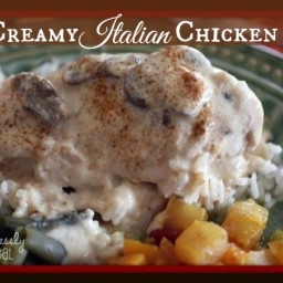 Freezer Meal Recipes: Creamy Italian Chicken