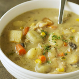 Freezer Meal: Slow Cooker Chicken and Dumplings