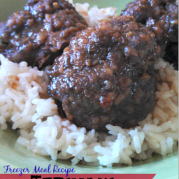 Freezer Meals: Teriyaki Meatballs Recipe