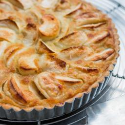 French Apple Tart (Tarte normande)