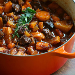 French Beef Stew with Old-fashioned Vegetables