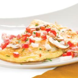 French Egg-White Omelet