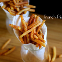 french fries recipe | crispy potato finger chips recipe