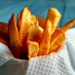 French Fries Recipe with McDonald's Style PiriPiri Spice Mix