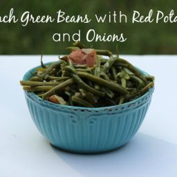 French Green Beans with Potatoes and Onions Recipe