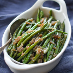 French Green Beans with Shallots