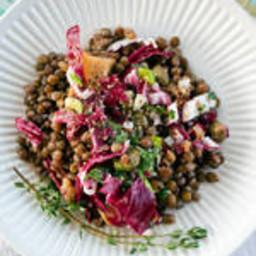 French Lentil and Golden Beet Salad