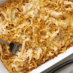 French Onion Chicken Pasta Casserole