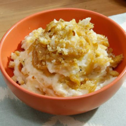 French Onion Mashed Potatoes