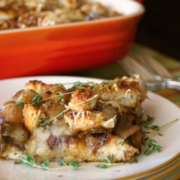 French Onion Mushroom Casserole Recipe