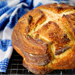 French Style Round Sourdough Bread