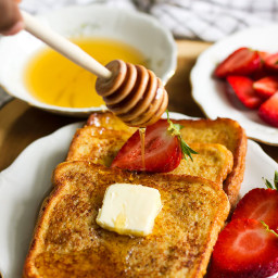 French Toast Golden and Delicious Breakfast