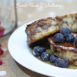 French Toast Medallions