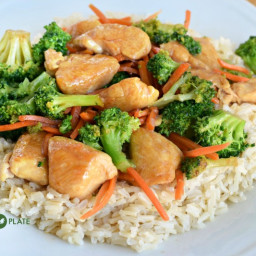 Fresh and Fast Chicken Teriyaki with Brown Rice