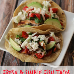 Fresh and Simple Fish Taco Recipe