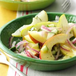 Fresh Apple and Pear Salad Recipe
