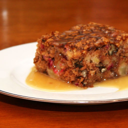 Fresh Apple Cranberry Cake
