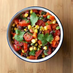 Fresh Black Bean & Corn Salad