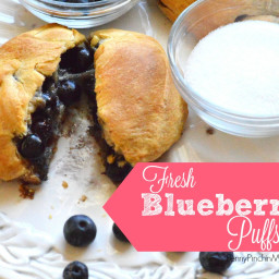 Fresh Blueberry Puffs