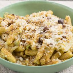 Fresh Cavatelli Pasta with Sautéed Cabbage & Chestnut Breadcrumbs