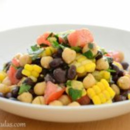 Fresh Corn and Avocado Bean Salad