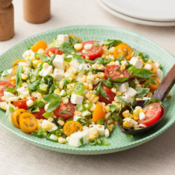 Fresh Corn Tomato Salad