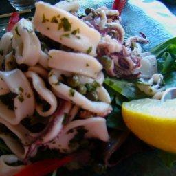 Fresh Crisp Calamari Salad