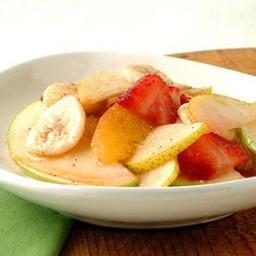 Fresh Fruit Salad with Nutmeg-Cinnamon Syrup