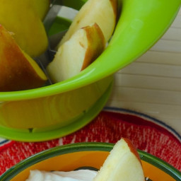 Fresh Fruit with Honey-Yogurt Dip