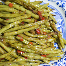 Fresh Green Beans, One Way