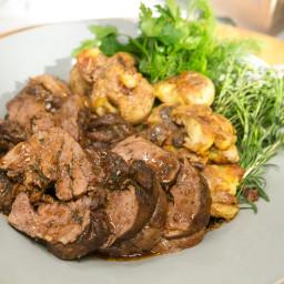 Fresh Herb and Guajillo Roasted Lamb