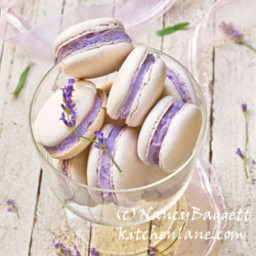 Fresh Lavender Buttercream Frosting