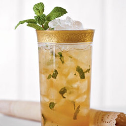Fresh Mint Tea Juleps