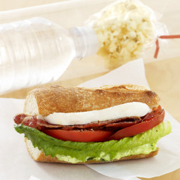 Fresh Mozzarella BLT with Pesto