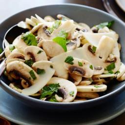 Fresh Mushroom and Parsley Salad